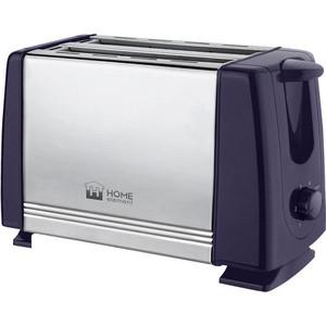 Тостер Home Element HE-TS500 темный топаз цены онлайн