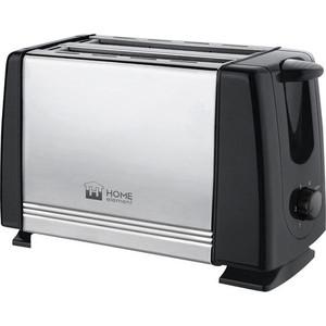 лучшая цена Тостер Home Element HE-TS500 черный жемчуг