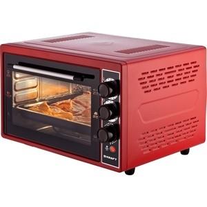 Мини-печь Kraft KF-MO 3804 KR красный