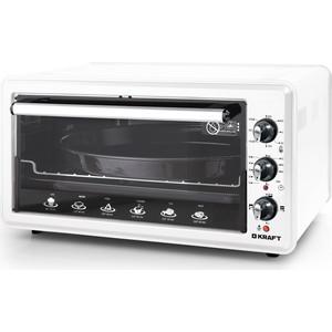 Мини-печь Kraft KF-MO 4511 KW белый цена и фото