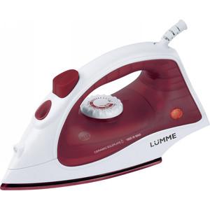 Утюг Lumme LU-1131 бордовый гранат чайник электрический lumme lu 143 бордовый гранат