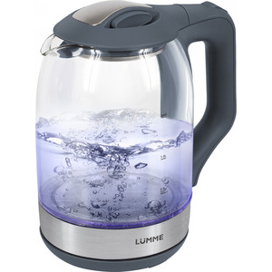 Чайник электрический Lumme LU-143 серый гранит цены