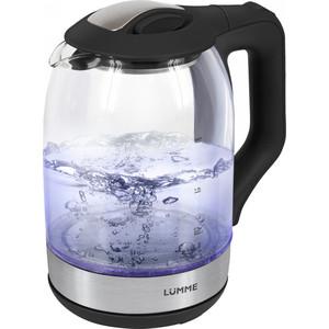 Чайник электрический Lumme LU-143 черный жемчуг чайник электрический haier hek 143