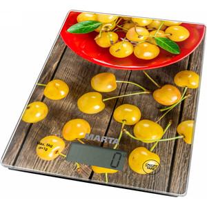 Весы кухонные Marta MT-1634 желтая черешня