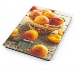 Весы кухонные Marta MT-1636 медовый абрикос