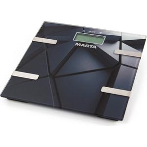 Весы Marta MT-1675 черный гранит мультиварка marta mt 1937 черный сталь
