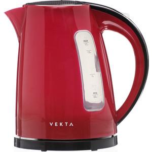 цена на Чайник электрический VEKTA KMP-1701 красный/черный