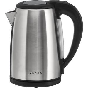 Чайник электрический VEKTA KMS-1702 стальной/черный kms активатор для офиса 2016