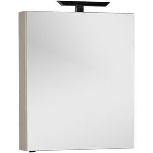 Зеркальный шкаф Aquanet Алвита 70 с светильником, ясень коимбра (183246, 181662)