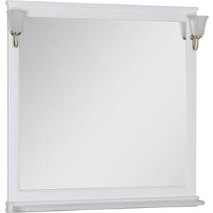 Зеркало Aquanet Валенса 110 с светильниками, белое (180291, 173024)