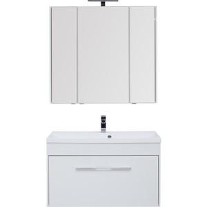 Мебель для ванной Aquanet Августа 100 белый