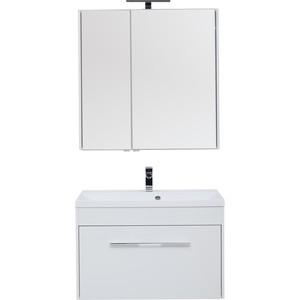 Мебель для ванной Aquanet Августа 90 белый фото