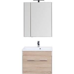 Мебель для ванной Aquanet Августа 75 дуб сонома фото