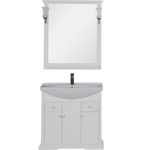 Мебель для ванной Aquanet Лагуна 80 белый