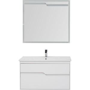 Мебель для ванной Aquanet Модена 100 белый