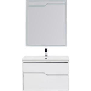 Мебель для ванной Aquanet Модена 85 белый