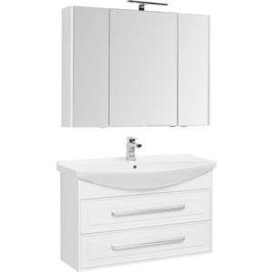 Мебель для ванной Aquanet Остин 105 белый