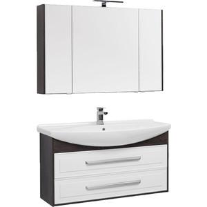 Мебель для ванной Aquanet Остин 120 дуб кантербери/белый