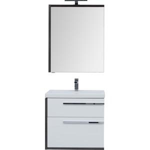 Мебель для ванной Aquanet Фостер 70 эвкалипт мистери/белый