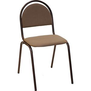 Стул Союз мебель Стандарт СМ 8 каркас антик медь ткань коричнево бежевая раскладушка ярославль мебель стандарт м