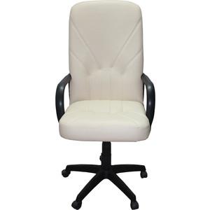 Кресло Союз мебель Менеджер ТГ экокожа светло-бежевая цены