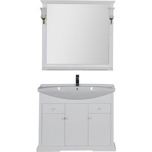 Мебель для ванной Aquanet Лагуна 105 белый