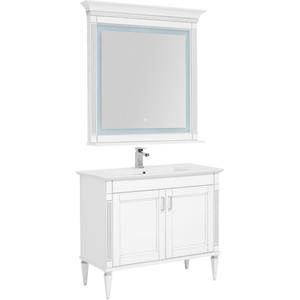 Мебель для ванной Aquanet Селена 105 белый/серебро 2 дверцы