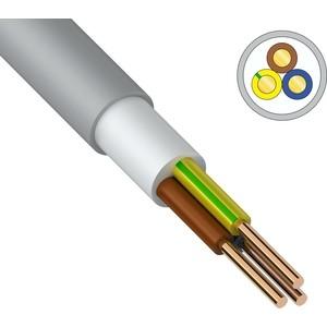 Кабель REXANT силовой медный NUM-J 3x2,5 мм2, длина 50 метров, ГОСТ 31996-2012, ТУ 3520-015-38229892-2015 (01-8705-50) кабель медный силовой негорючий ввгнг ls 4х16