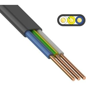 Кабель REXANT силовой медный ВВГ-Пнг(А) 3x4 мм2, длина 20 метров, ГОСТ 31996-2012, ТУ 16-705.499-2010 (01-8213-20) кабель медный силовой негорючий ввгнг ls 4х16