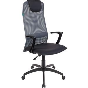 Кресло Бюрократ KB-8N/DG/TW-12 серый TW-04 цена