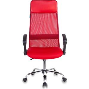 Кресло Бюрократ KB-6SL/R/TW-97N красный TW-35N кресло бюрократ ch 200nx на колесиках ткань красный [ch 200nx tw 97n]