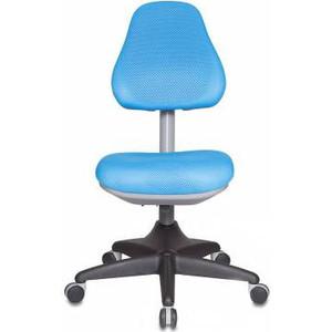 Кресло Бюрократ KD-2/bl/TW-55 светло-голубой кресло детское бюрократ kd 7 на колесиках ткань голубой [kd 7 tw 55]