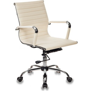 Фото - Кресло Бюрократ CH-883-low/ivory кресло бюрократ ch 993 low v ivory