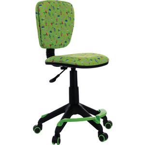Кресло Бюрократ CH-204-F/cactus-gn подставка для ног зеленый кактусы