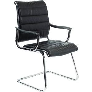 Фото - Кресло Бюрократ CH-994AV черный искусственная кожа кресло бюрократ ch 808axsn or 16 искусственная кожа черный