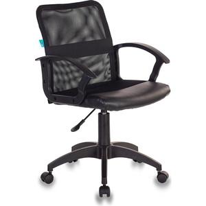 Кресло Бюрократ CH-590/black спинка сетка черный кресло бюрократ ch 1300 black черный