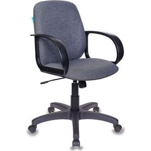 цена на Кресло Бюрократ CH-808-low/g низкая спинка, серый 3C1