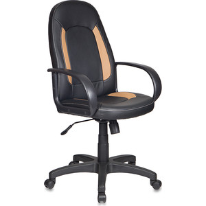Кресло Бюрократ CH-826/B+BG вставки бежевый, сиденье черный
