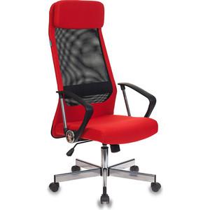 Кресло Бюрократ T-995 home/red черный/красный TW-01