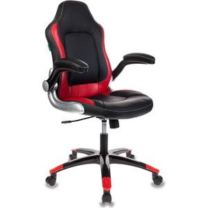 Кресло Бюрократ Viking-1/bl+red цена 2017