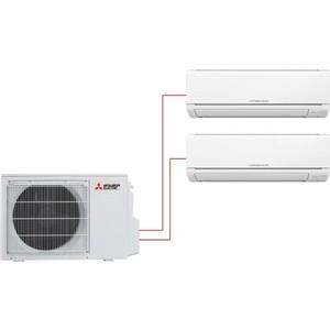Мульти сплит-система Mitsubishi Electric MSZ-HJ25VA ERx2/ MXZ-2HJ40VA ER