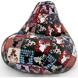 Кресло-мешок DreamBag С оленями дарк 2XL 135x95 александр дарк новая кровь