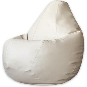 Кресло-мешок DreamBag Кремовая экокожа 3XL 150x110