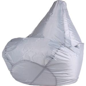 Кресло-мешок DreamBag Серое оксфорд L 80x75