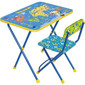 Набор мебели Nika ПОЗНАЮ МИР (стол + мяг стул) h580 КП2/10