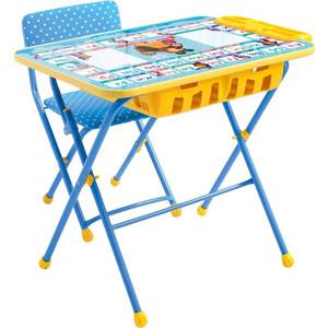 Набор мебели Nika МАША и МЕДВЕДЬ (стол+мягкий стул) Азбука 2 КУ2П/2 набор мебели nika умничка стол стул азбука 3 маша и медведь кну1 0283ку1 3