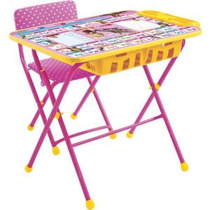Набор мебели Ника МАША и МЕДВЕДЬ (стол+мягкий стул) Азбука 3 КУ2П/3