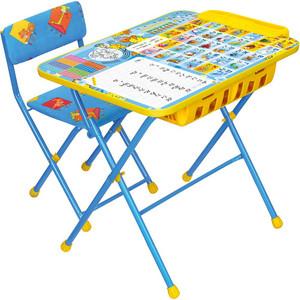 Набор мебели Nika ПЕРВОКЛАШКА ОСЕНЬ стол+мягкий стул КУ2П/11