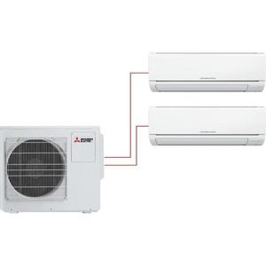 Мульти сплит-система Mitsubishi Electric MSZ-HJ25VA ERx2/MXZ-3HJ50VA ER