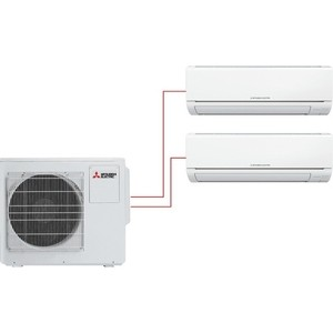 Мульти сплит-система Mitsubishi Electric MSZ-HJ25VA ER+MSZ-HJ50VA ER/MXZ-3HJ50VA ER